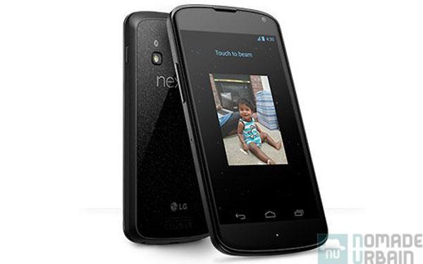 Nexus de métal, Test Exclusif LG Google Nexus 4