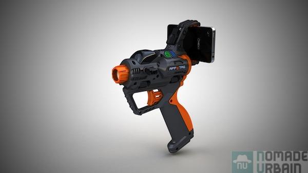 Le Paintball ? Trop analogique ! Le LaserQuest ? Trop indoor ! Decouvrez le FPS en Réalité Augmenté ! Test App Tag LaserBlaster