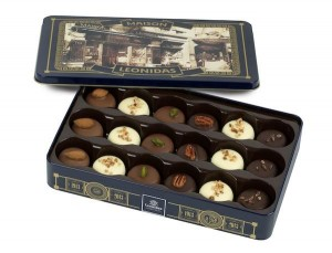 Leonidas collection N100 coffret bleu