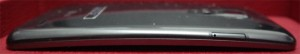 LG G Flex profil face écran