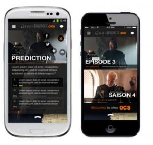 App Game Of Thrones smartphone