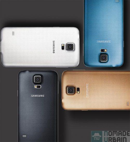 Galaxy S5, Sportif et sexy, il prend autant soin de votre style que de votre forme ! Test Samsung Galaxy S5