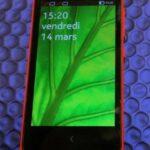 Nokia X face