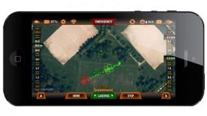 Parrot ARDRONE GPS app