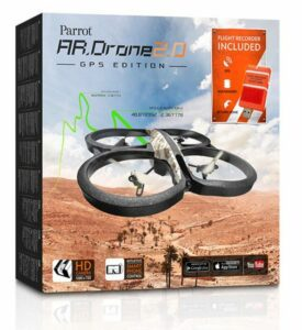 Parrot ARDRONE GPS packaging