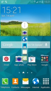Samsung Galaxy S5 capture boite a outils 2