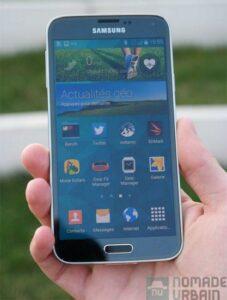 Samsung Galaxy S5 face