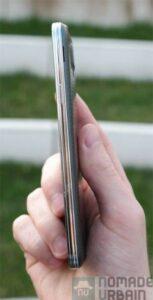 Samsung Galaxy S5 tranche droite