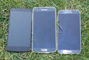 Samsung Galaxy S5 vs Galaxy S4 vs Google Nexus 5