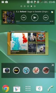 Sony Mobile Xperia Z2 capture interface 2