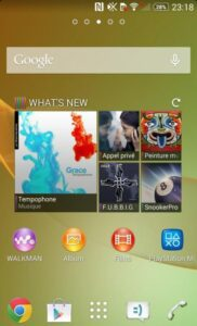 Sony Mobile Xperia Z2 capture interface 3