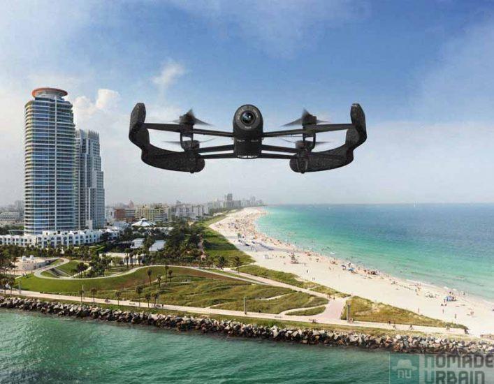 Parrot nous invite à un safari photo aérien… avec le BeBop Drone