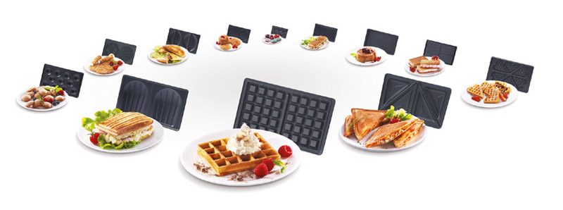 Snaking unlimited tech style food pop - Plaque tefal snack collection ...
