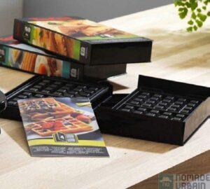 Snack Collection TEFAL 2014-jeu de plaques ouvert