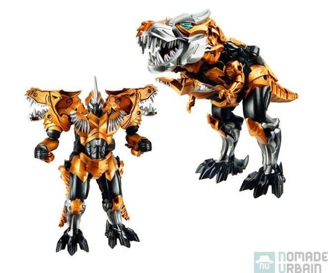 Figurine Transformers : Construc Bots Dinobots Warriors : Hound et Wide Load