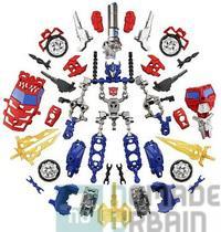 Jouet hasbro Transformers-Construct-Bots-Optimus-Prime-vs-Megatron