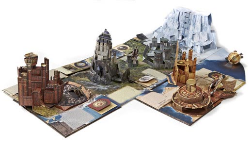 hbo shop pop up guide westeros games of thrones deplié