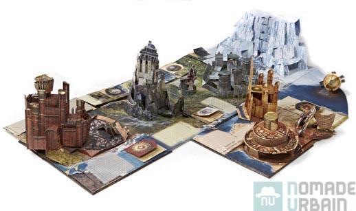 3D de papier, pour Trône de Fer encyclopédique