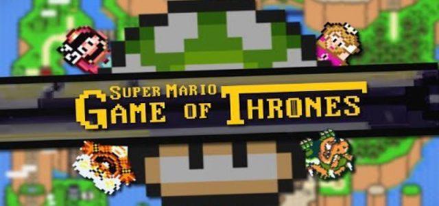 il y a quelques semaines, je traine un peu sur le NET et tombe sur une pépite youtubesque : le générique de Games of Thrones en version Super Mario. Le résultat un pastiche simplement magnifique et qui a demandé une sacrée quantité […]