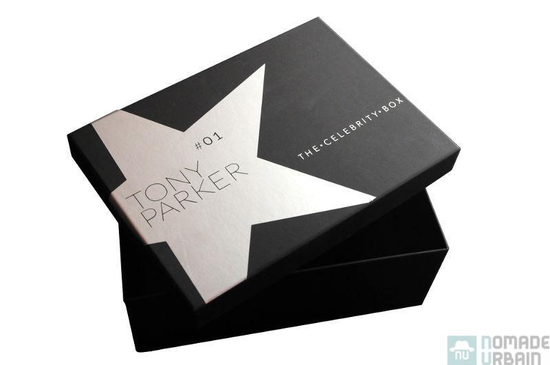 The Celebrity Box, avec de vrais morceaux de Tony Parker à l'intérieur
