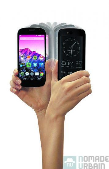 Le smartphone Russe qui donne envie de lire, prise en main YOTAPHONE 2