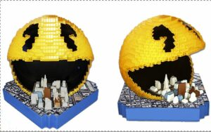 PIXELS_Collector Blu-Ray lampe PACMAN 1