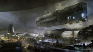 Test Halo 5 Guardians artwork
