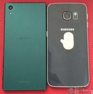 Test sony mobile xperia z5 vs Samsung Galaxy Edge