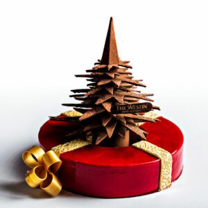 Bûche Le Cadeau au Westin Paris Vendôme 1.
