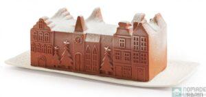 Bûche glacée Village de Noël Picard 2