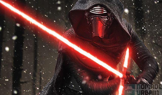 Un cadeau par jour 12/18, Kylo Ren sabre laser Fx Deluxe Star Wars 7, CROIX LASER pour déco lumineuse