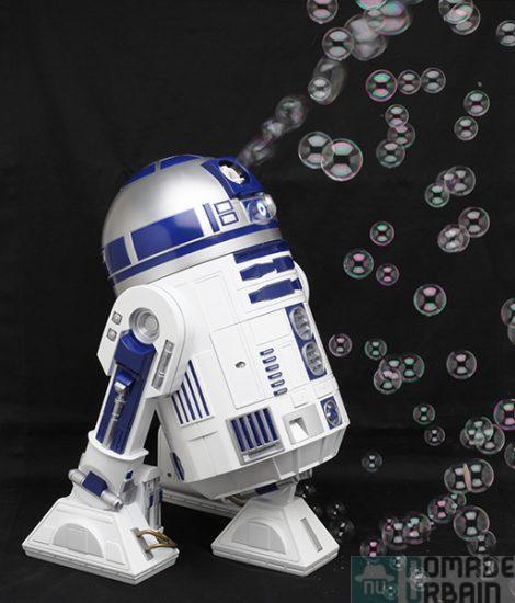 Un jouet par jour 16/24, Modelco R2D2  le robot à bulle, féerie robotique