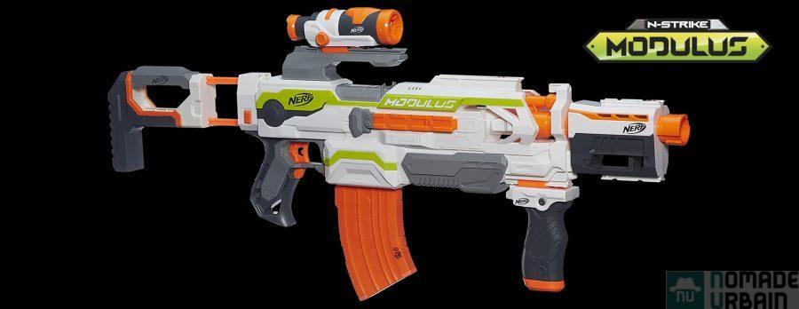 Un jouet par jour 17/24 : Nerf Modulus, customisable à volonté