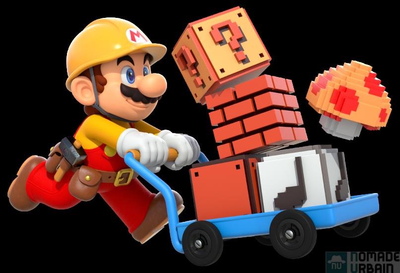 Un jeu vidéo par jour 2/12, Nintendo Mario Maker, Architecte en plomberie