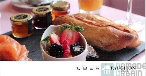 Uber et Fauchon en mode maman pour le 1 er janvier!