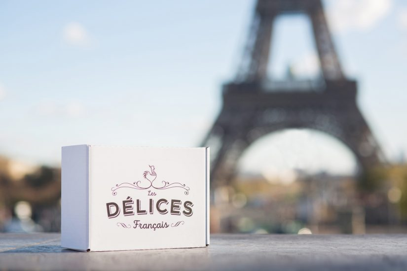 Un cadeau ou une gourmandise par jour 6/24, Box cadeau Les Délices Francais, à offrir aux expatriés