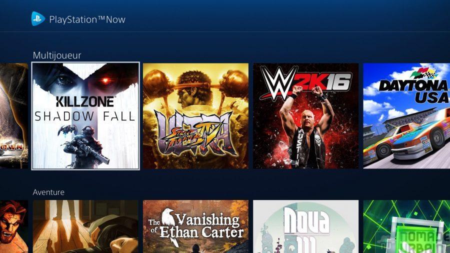 PS Now, le Netflix du gaming c'est Now !