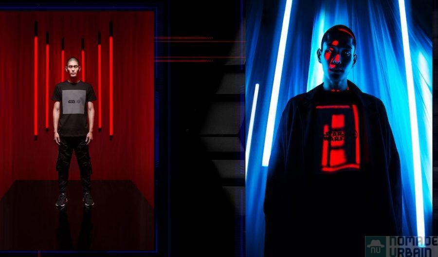 Hype X Star Wars, la lumière change tout