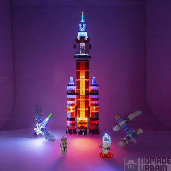 Laser Pegs Mars Rocket, l'idée jouet du jour, les briques favorites d'Elon Musk ?