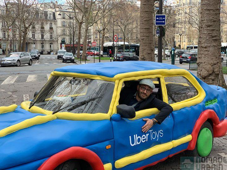 UberToys, ne jouez plus au petites voitures, faites vous conduire dans Paris avec !