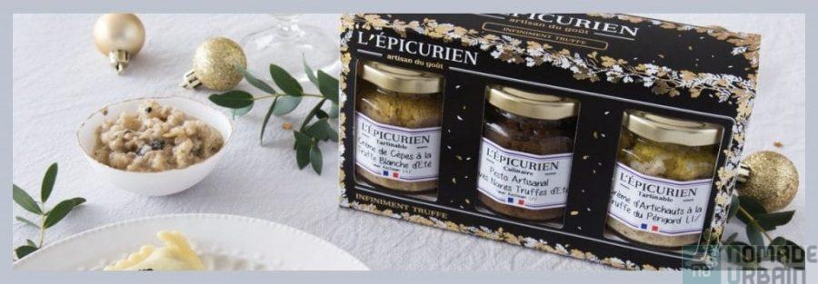 Coffret l'Epicurien, l'idée gourmande du jour avec des pots en verre aux mille et une saveurs!
