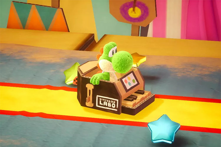 Test Yoshi's Crafted World, l'exploration réinventée