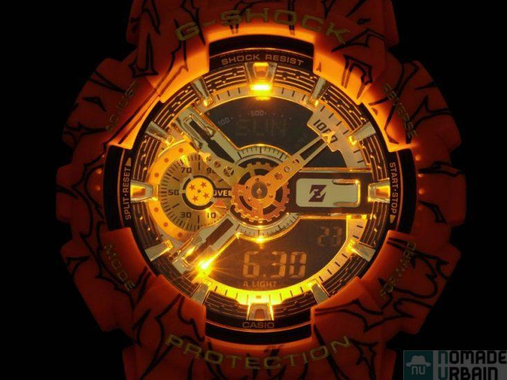 G-Shock Dragon Ball Z, boule de cristal et Super Saiyan au poignet  !
