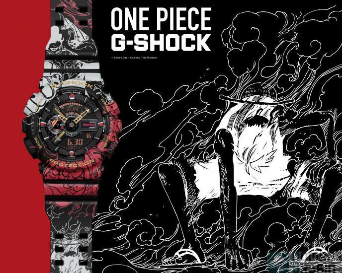 G-Shock One Piece, la dualité de Luffy s'empare de votre poignet !