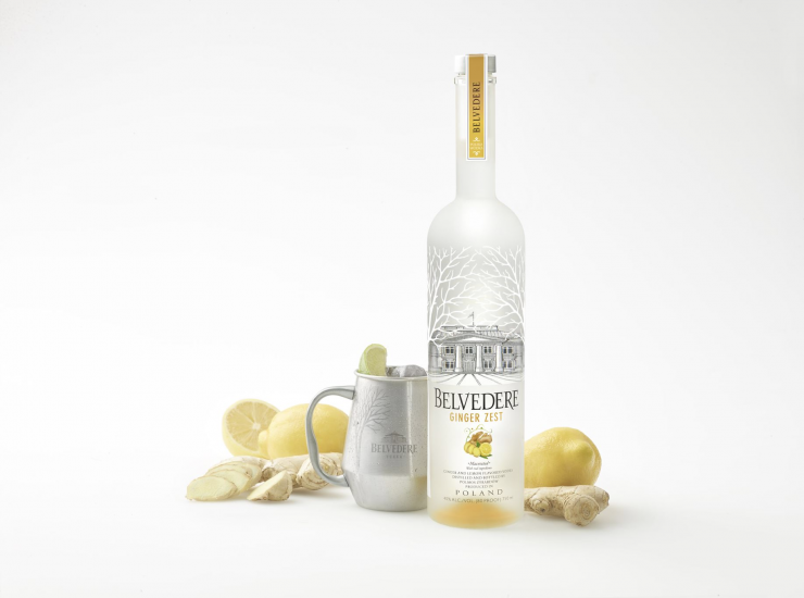 Le cocktail de la semaine, le Polish Mule par Belvedere Ginger Zest