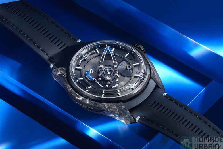FREAK X Bucherer BLUE, l'horlogerie aérienne