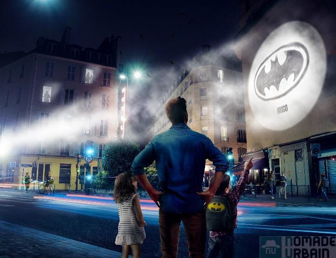 Ton Logo Batman, transforme ton mur en Gotham City!