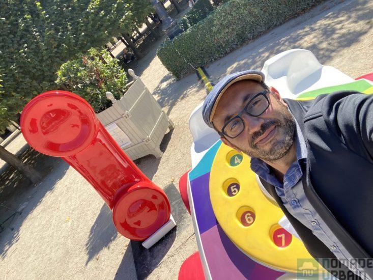 Le Jardin d'enfants du Palais Royal, Fisher-Price transforme le cœur de Paris avec des jouets géants !