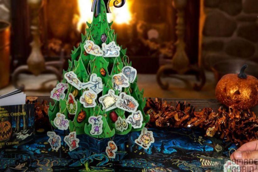 Calendrier de l'Avent L'étrange Noël de Monsieur Jack en pop-up !