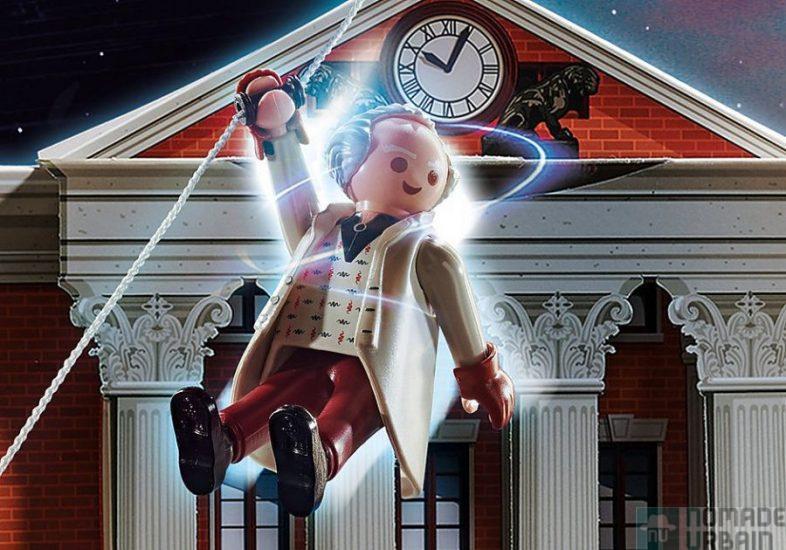 Calendrier de l'Avent Back to the Future, Playmobil en mode voyage dans le temps !